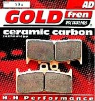 GOLD fren Brake Pads Front