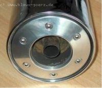 Muffler Nozzles for Stock Muffler