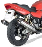 COBRA Exhaust System Carbon Round
